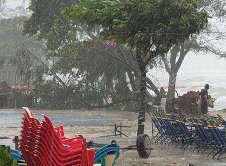 Cambodge & Météo : Le ministère appelle à la vigilance dans les zones côtières