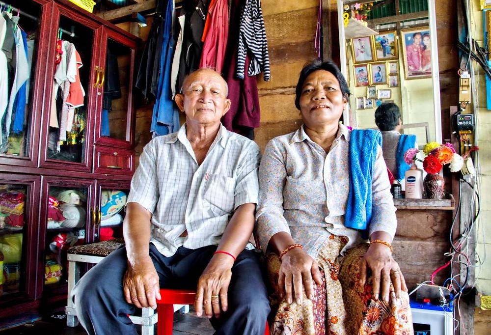Habitants du village lacustre