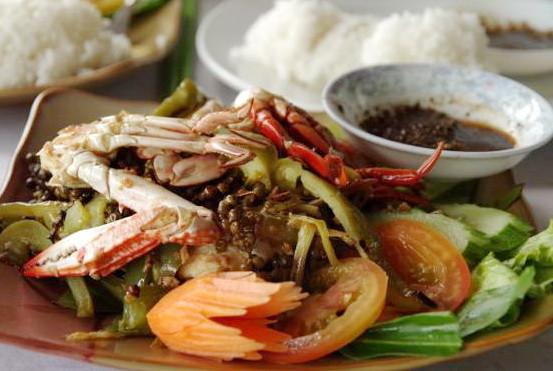 Crabe sauté au poivre de Kampot