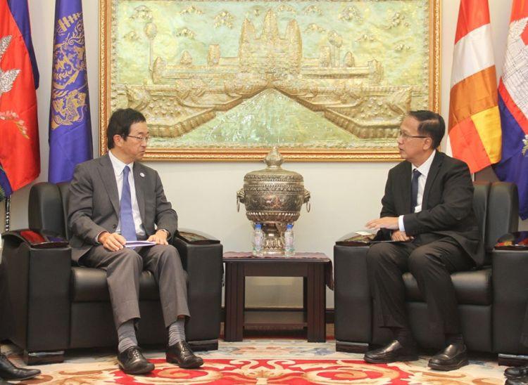 Les chiffres, un peu tardifs, ont été divulgués par S.E. Pan Sorasak, ministre du Commerce, lors de sa récente rencontre à Phnom Penh avec le nouvel ambassadeur japonais au Cambodge, Mikami Masahiro.