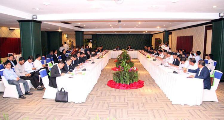 réunion de la « Commission interministérielle pour la planification du plan directeur de développement du tourisme à Siem Reap »