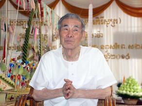 Tradition : Anniversaire khmer pour Yoshiaki Ishizawa