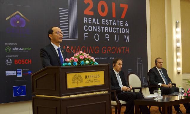 S.E Dr Hen Sophal : ''...Le secteur de l'immobilier et de la construction connait une croissance exceptionnelle de 60% depuis 2015. C'est un secteur qui a généré environ 200 000 emplois directs...''