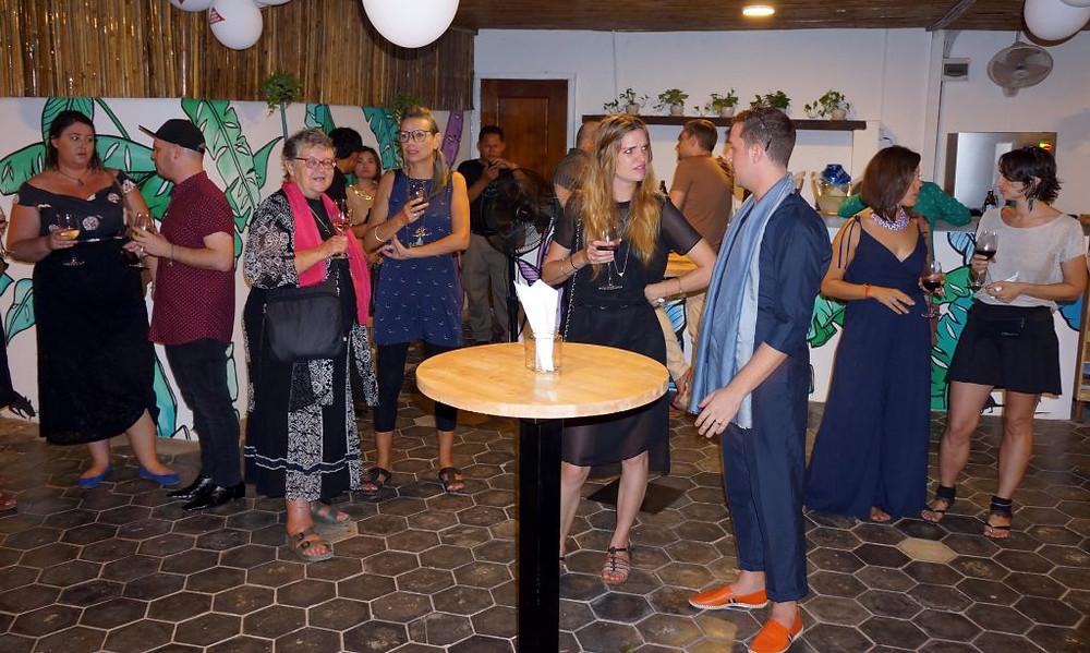 Inauguration officielle du Centre des visiteurs de l'ONG spécialisée dans le déminage, APOPO, à Siem Reap.