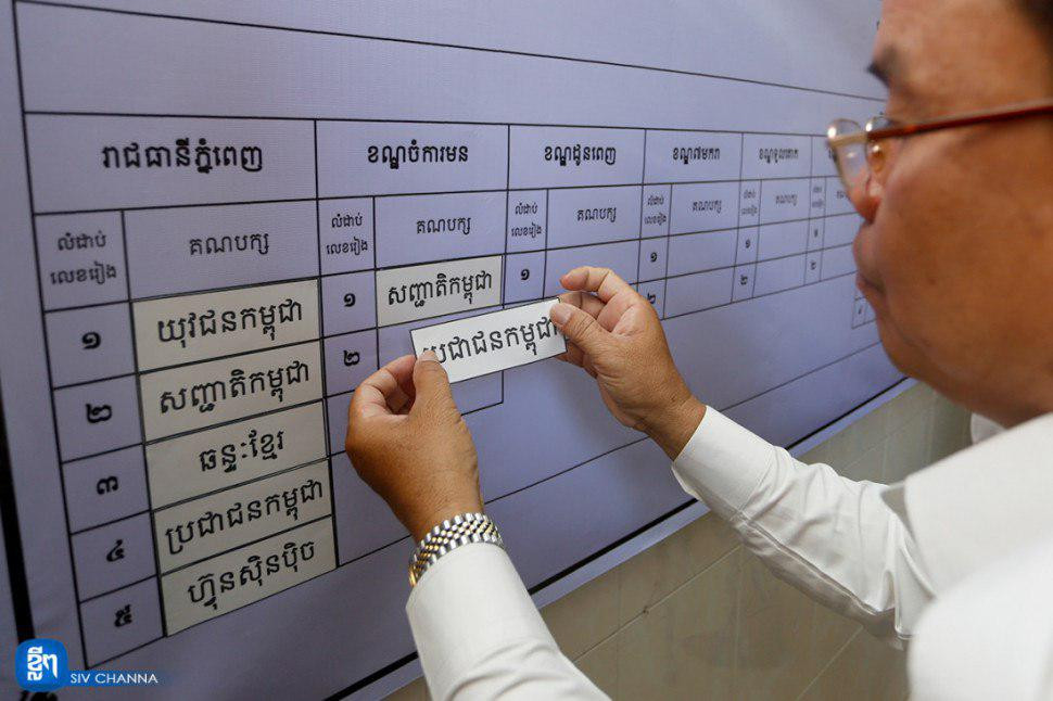 99,94% des 11.572 électeurs se sont rendus aux urnes, sous l'observation de 1.010 observateurs nationaux venus de 19 institutions, la plupart d'entre eux de l'Union des fédérations de jeunes du Cambodge, ainsi que de 704 agents politiques appartenant à cinq des sept Partis politiques enregistrés.