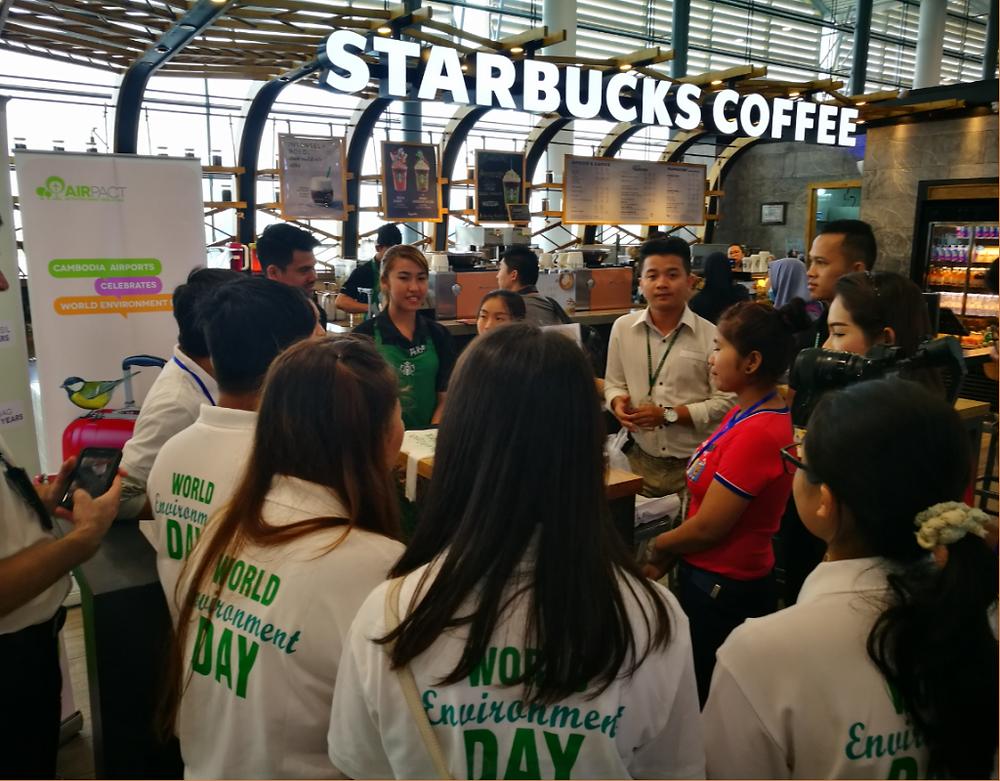 Cambodia Airports : Des jeunes cambodgiens dirigent les initiatives de la Journée mondiale de l'environnement aux trois aéroports internationaux