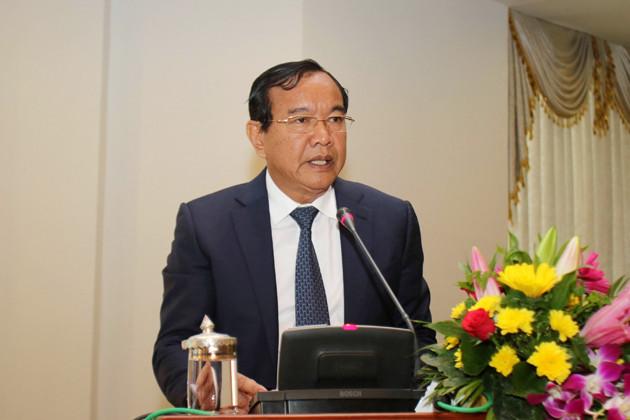 Prak Sokhonn, Ministre des Affaires étrangères et de la Coopération internationale