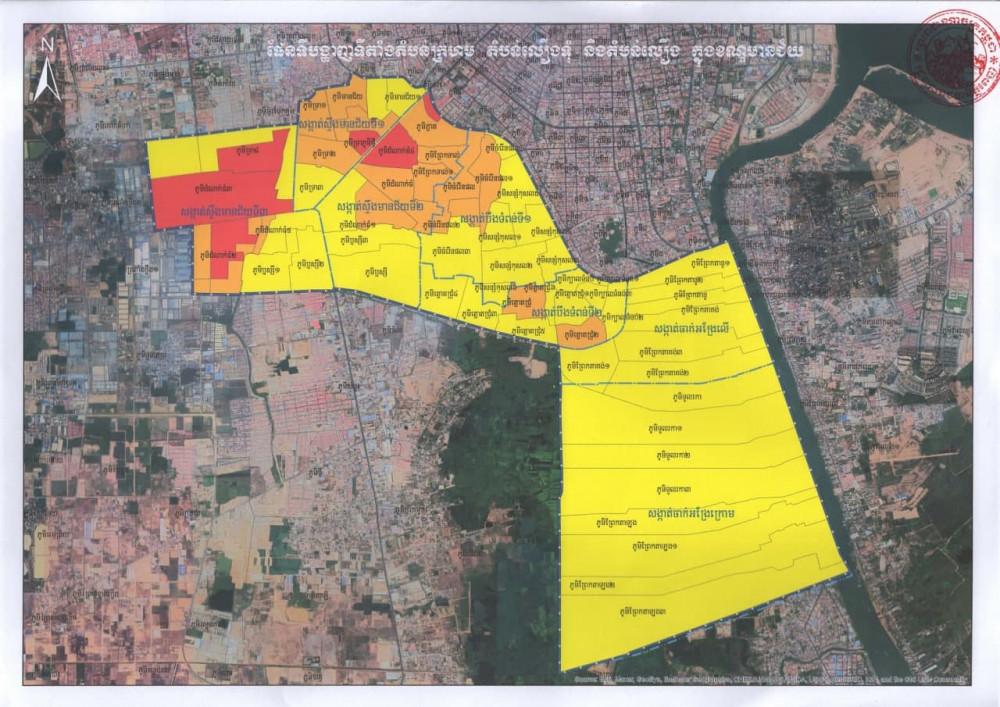 Réduction des «zones rouges» à Phnom Penh