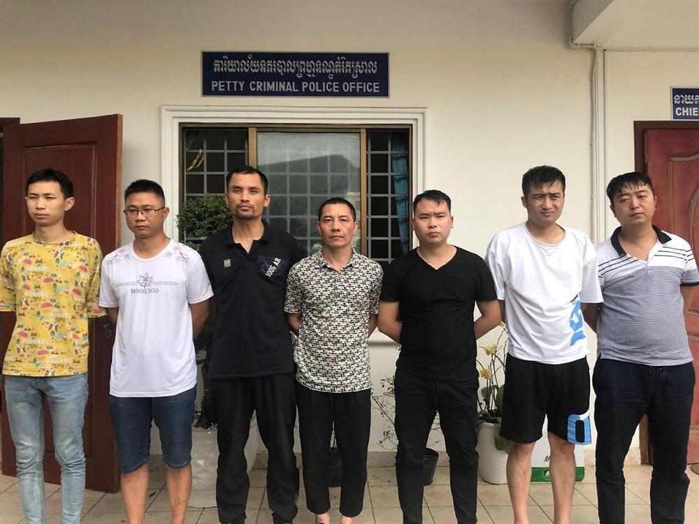 Sihanoukville : Proxénètes chinois sous les verrous