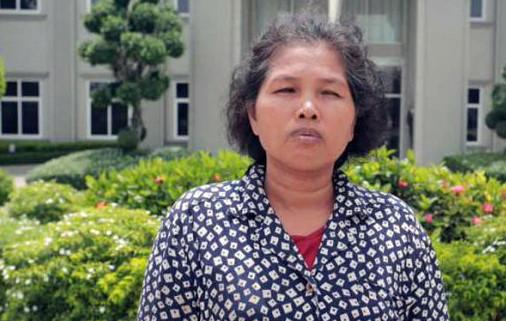 Phuong Channy, 50 ans, a été condamné par le juge Mong Monisophea à huit ans de prison