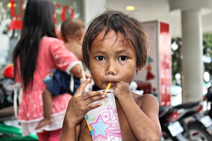 Enfant cambodgien. Photo C.Gargiulo