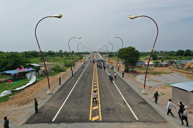 Le Pont de l'amitié Cambodge-Thaïlande sera inauguré fin avril