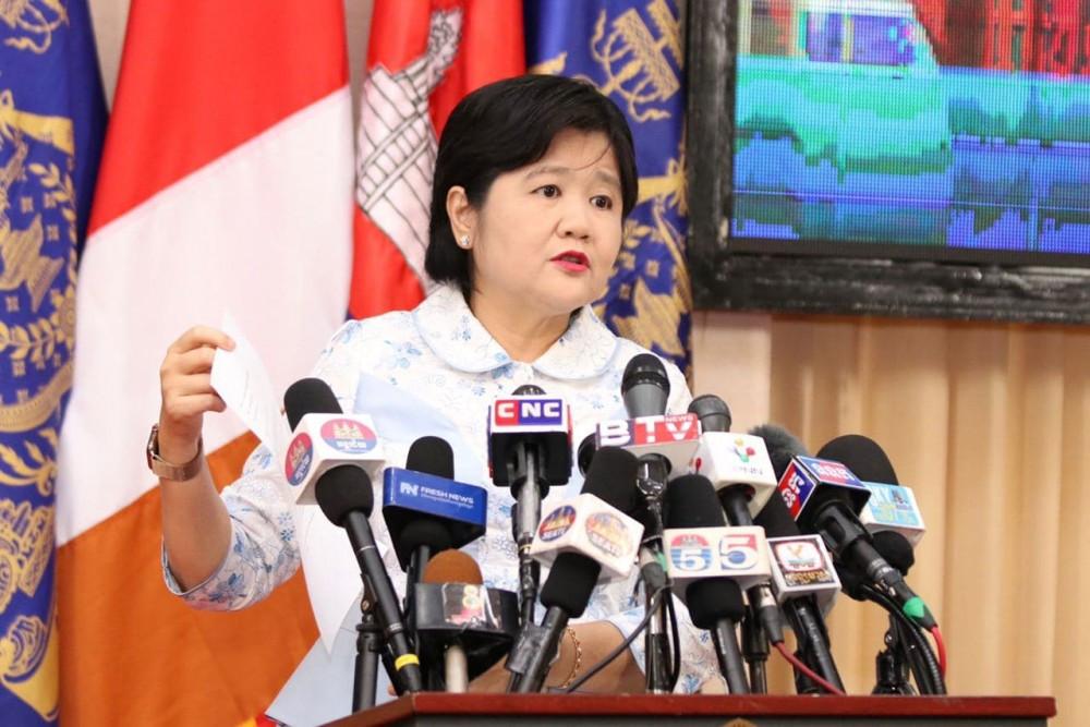 La secrétaire d'État au ministère de la Santé, la Dr Or Vandin
