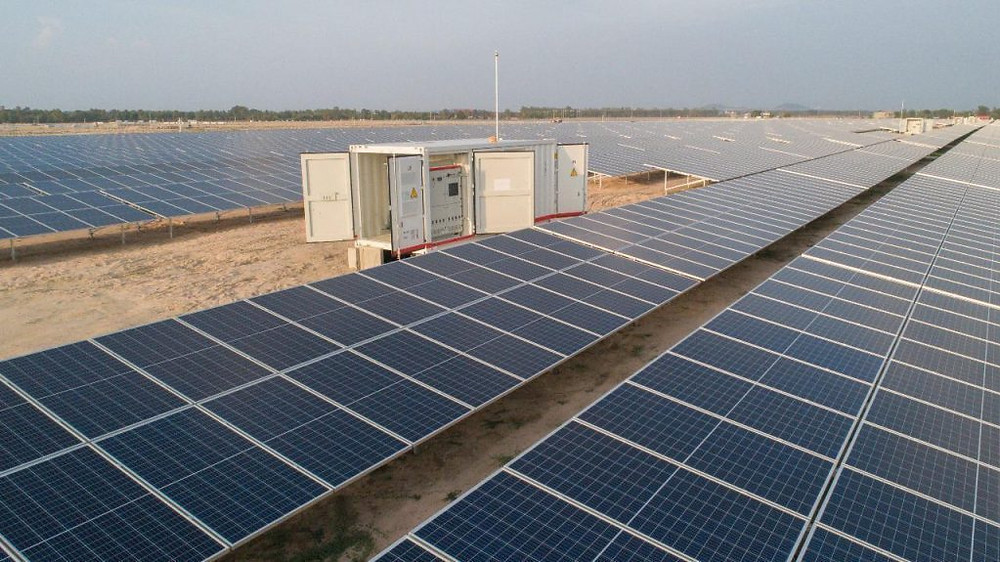 Ferme solaire de Kampong Speu