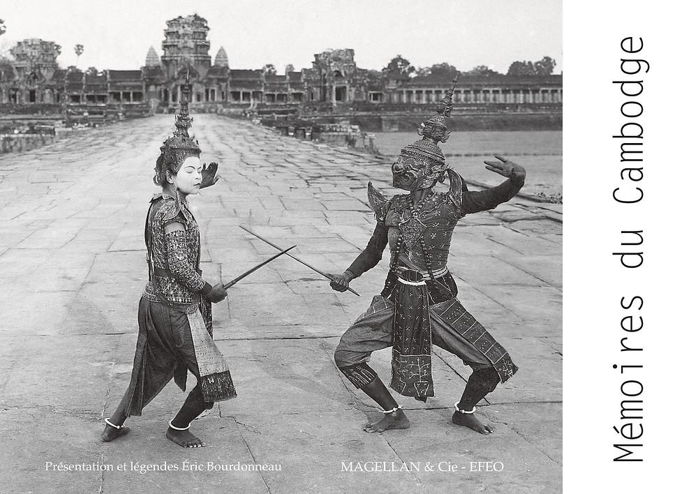 Mémoires du Cambodge, un ouvrage d'Éric Bourdonneau consacré aux premières années de l'EFEO
