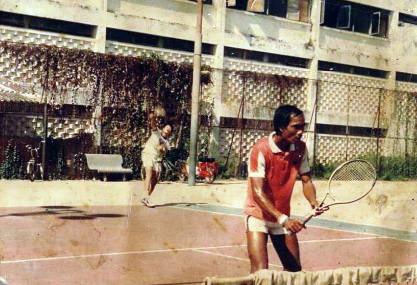 Yi Sarun, le seul survivant de l'âge d'or du tennis cambodgien