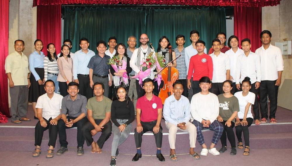 AEKI ENSEMBLE : Echange musical entre la Finlande et le Cambodge