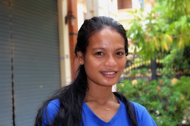 Jeune femme de Phnom Penh, Photo Christophe Gargiulo