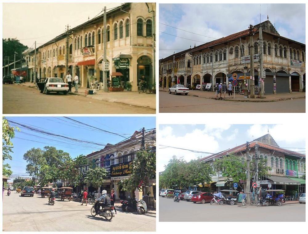Siem Reap d'hier et d'aujourd'hui : Le vieux marché