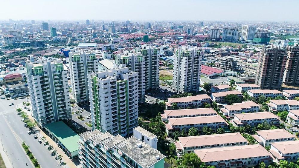 Le secteur immobilier au Cambodge a connu une croissance remarquable en 2017