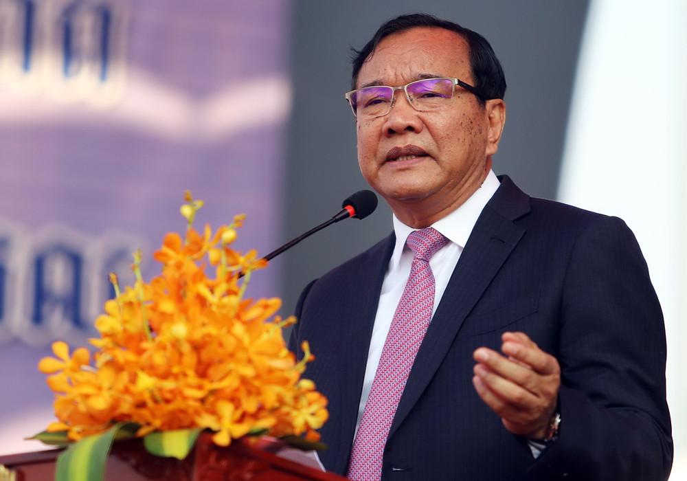 Le Vice-Premier Ministre, ministre des Affaires étrangères et de la Coopération internationale S.E. Prak Sokhonn présidait cette cérémonie.