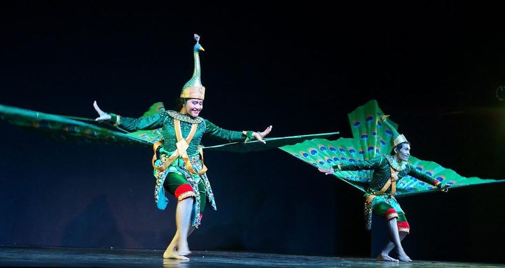 Les artistes participant à ce spectacle unique font partie d'une troupe créée et entraînée par Cambodian Living Arts spécialement pour cette performance.