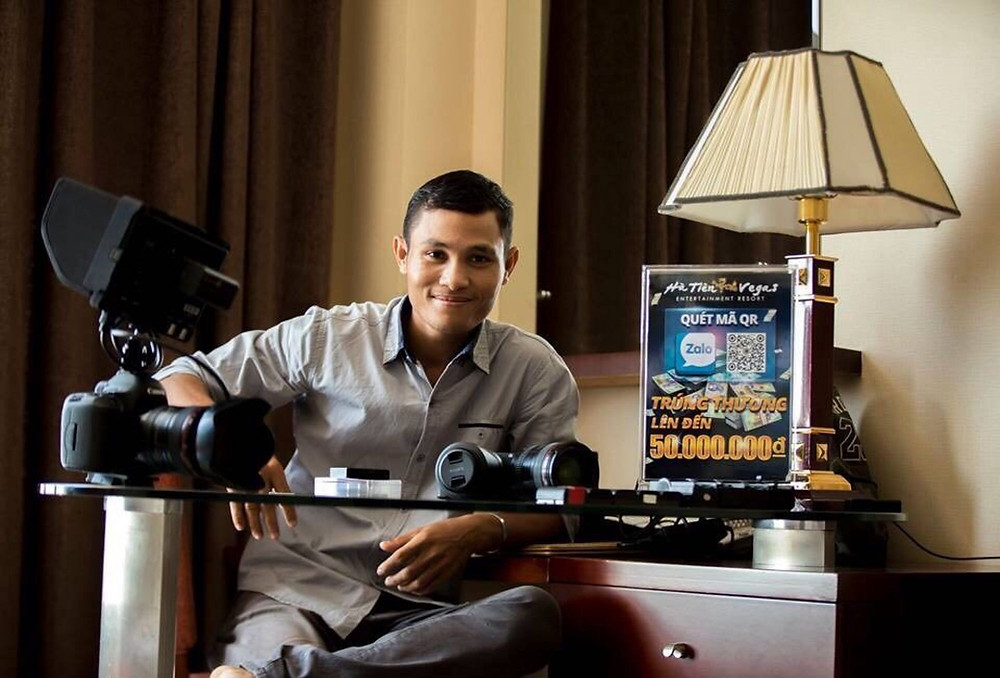 Heuv Nhanh, le chiffonnier devenu réalisateur de télévision
