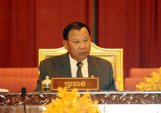 Samdech Vibol Sena Pheakdei Say Chhum, président du Sénat