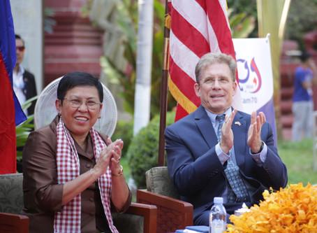 Diplomatie : W.P Murphy, «Ma 1e année d'ambassadeur au Cambodge a été formidable »