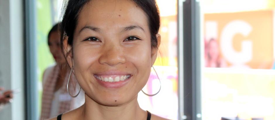 Artisans de Siem Reap : Sounsrors et Rokhak, le beau sourire des jacinthes d'eau