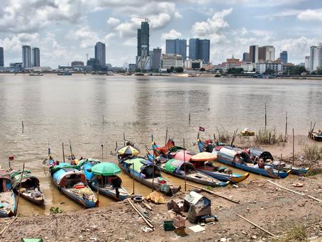 Archive & Documentaire photographique : Les pêcheurs Cham de Chroy Changvar