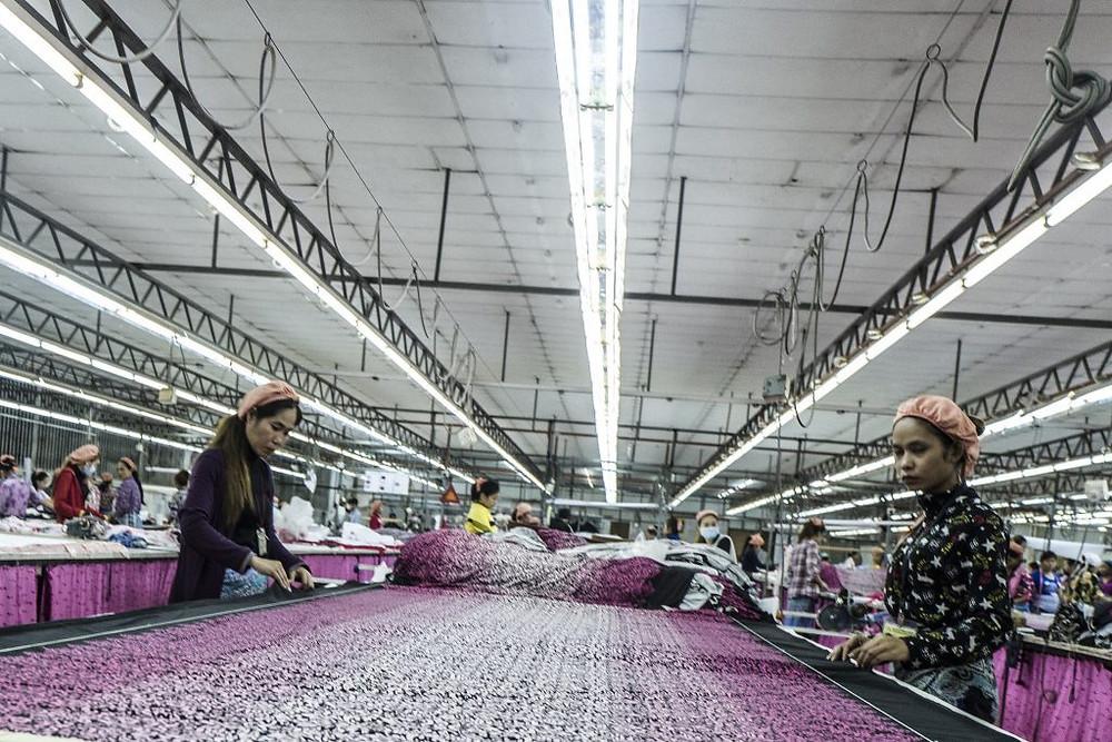 Usine textile au Cambodge. Photographie UN (CC)