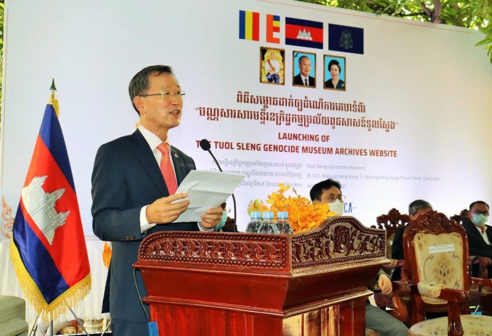 Rho Hyun Jun, directeur du bureau de la KOICA au Cambodge