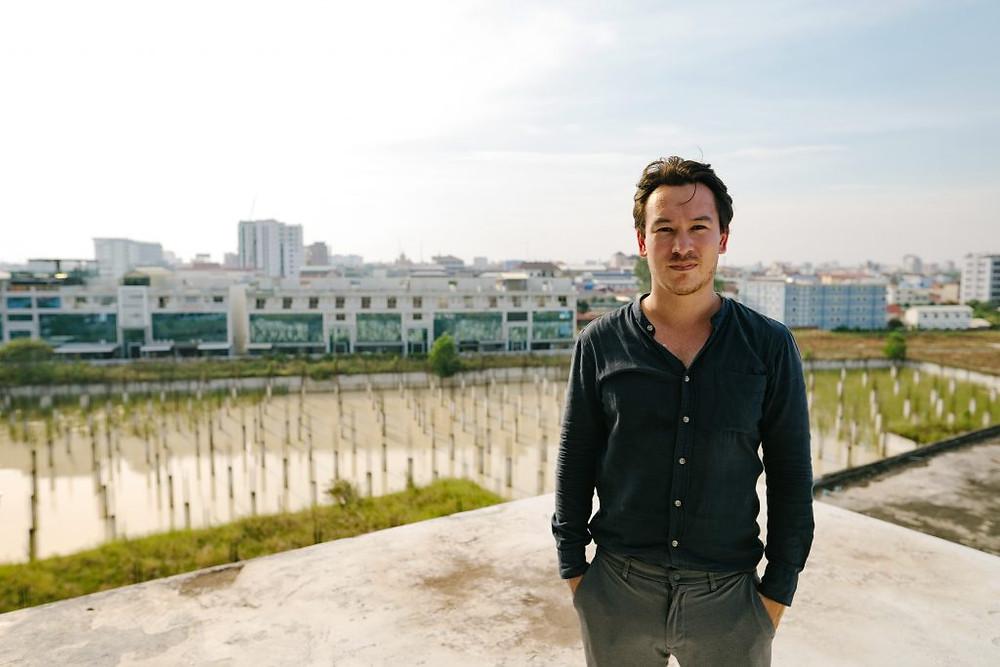 Antoine Meinnel, 31 ans, à la tête du cabinet Bloom Architecture