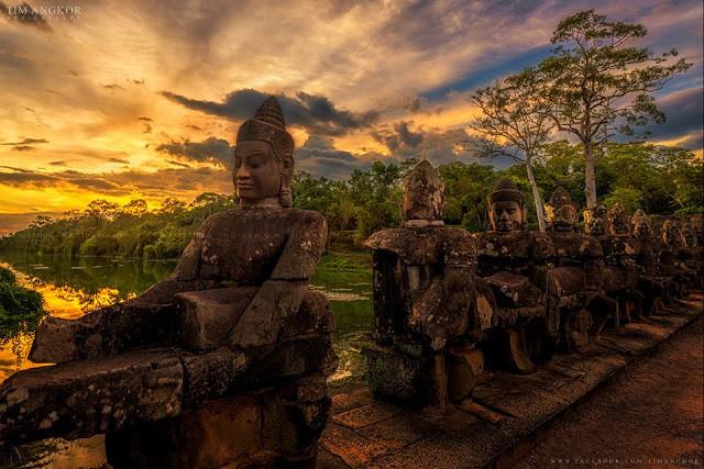 Les temples sublimés par Tim Angkor