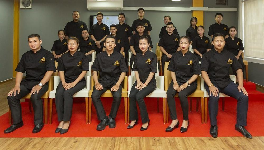 Photo de groupe des diplômés