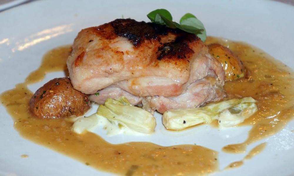 Poitrine de porc de la Ferme de Bassac