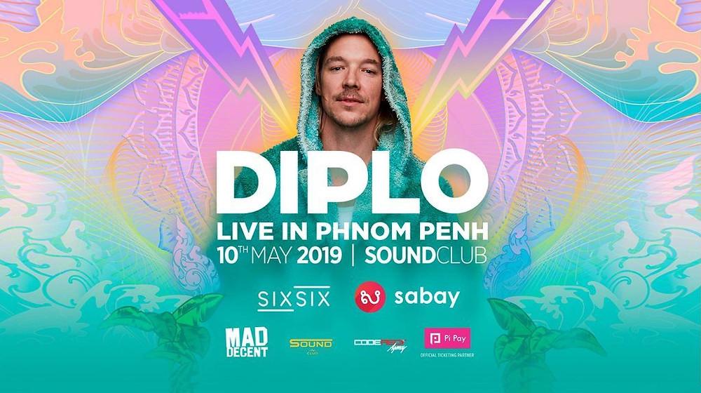 DJ DIPLO au Sound Club