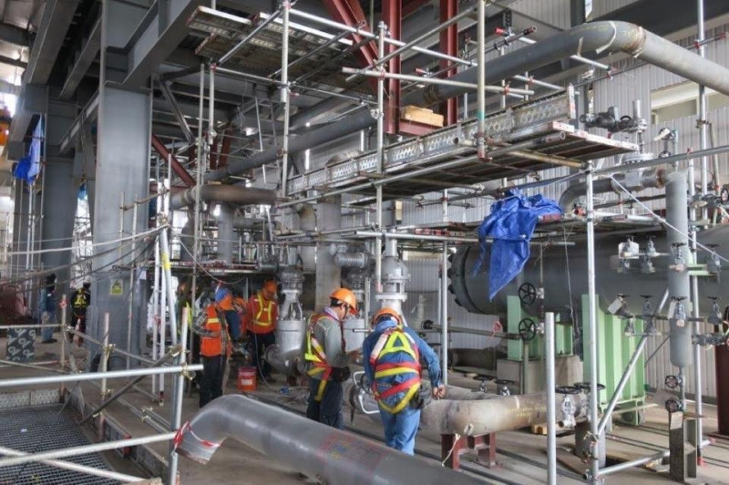 Une centrale à charbon de 150 mégawatts prête à fonctionner en octobre