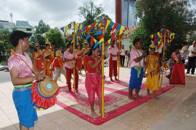 Danse traditionnelle Troddi au ministère de l'Information