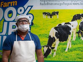 Siem Reap & Gastronomie : Royaume du Cambodge, l'autre pays du fromage?