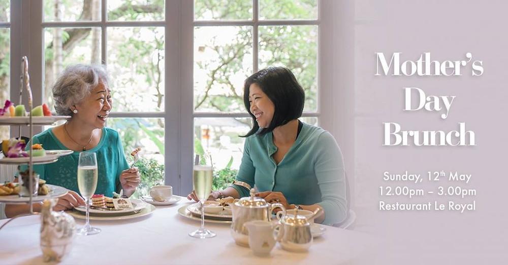 Brunch spécial fête des mères au Raffles Hôtel le Royal