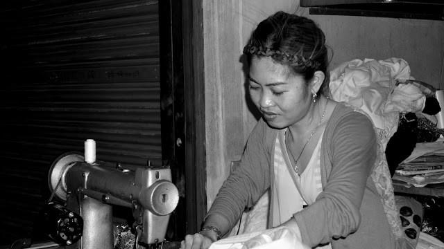 Galerie du Jour : Ma couturière du marché