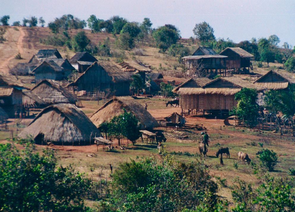 Village du Mondolkiri. Photographie par Carpe Diem Travel (cc)