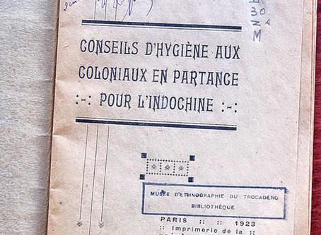 Insolite et amusant parfois: Conseils pour les colons d'Indochine en 1923