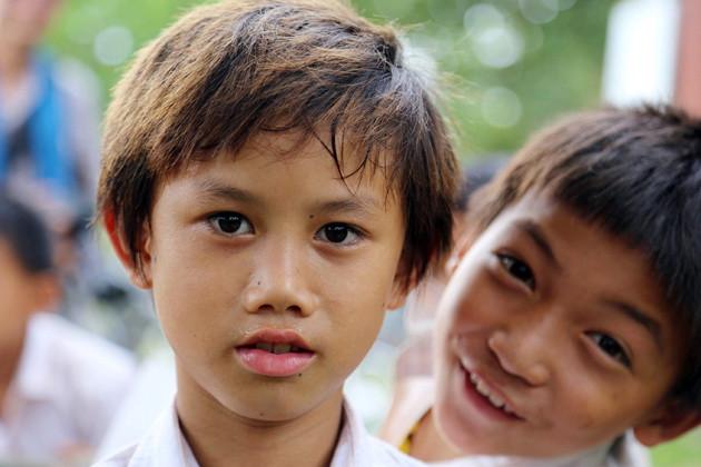 Rentrée scolaire à Veun Sai