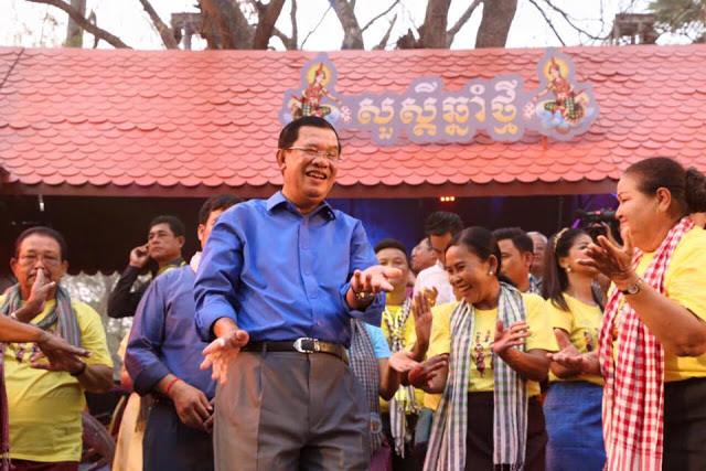 Samdech Techo Hun Sèn à Angkor Sankranta 2016