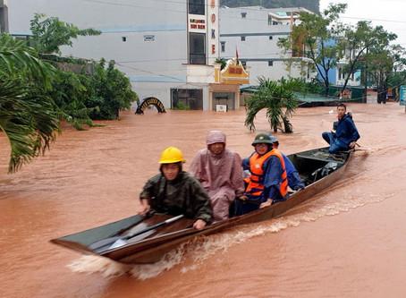Météo & Alerte : La tempête Saudel se dirige vers le Cambodge