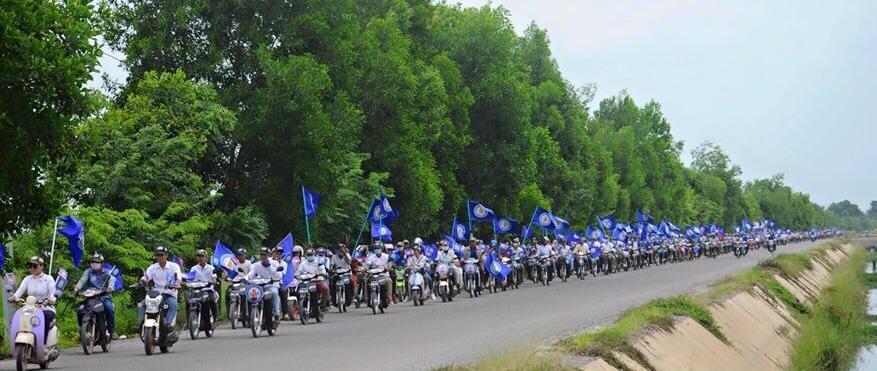 Rallye de la Ligue pour la démocratie à Phnom Penh