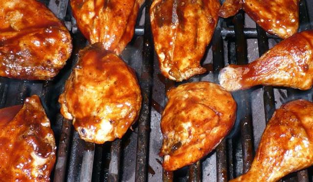 Cuisses de poulet grillées à la cambodgienne